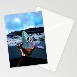 Penguins on a piece of ice by GEN Z Stationery Cards