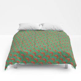 Cherry Shrimp - Ruby Comforters