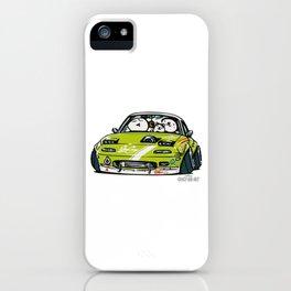 Crazy Car Art 0152 iPhone Case