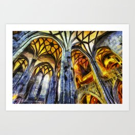 Vienna Cathedral Vincent Van Gogh Art Print