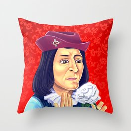 King Richard III Throw Pillow