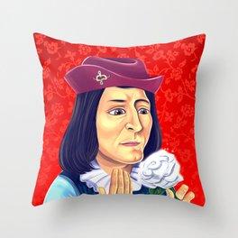 King Richard III Throw Pillow