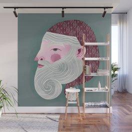 Kris Kringle Wall Mural