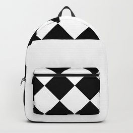 GEOMETRIC COMPOSITION (BLACK-WHITE) Backpack