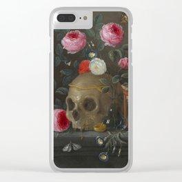Jan van Kessel Vanitas Still Life Clear iPhone Case