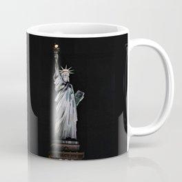 Statue of Liberty at Night Coffee Mug