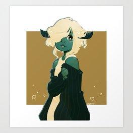 Drowsily Art Print