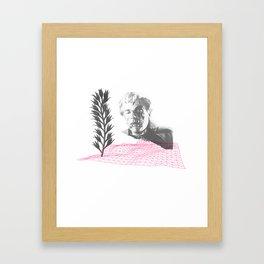 oh my own singularity Framed Art Print