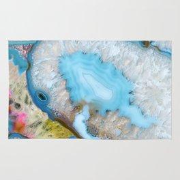 Crystals blue Rug