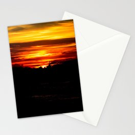 When the sun sets upon us Stationery Cards