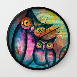 Let's Watch The Sun Set Wall Clock