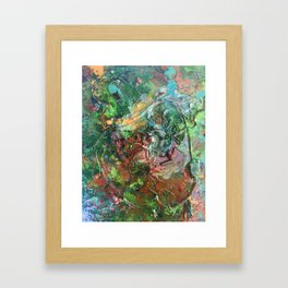 What made you do this Framed Art Print
