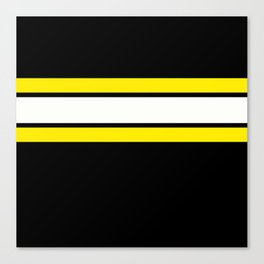 Team Colors 2..yellow Canvas Print