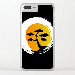 Zen Tree Clear iPhone Case
