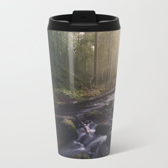 As she transforms Metal Travel Mug