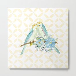 The love birds Metal Print