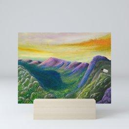Highland Sheep View Mini Art Print