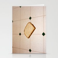 bread Stationery Cards featuring bread by jacob rattin