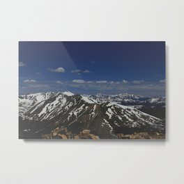 From the Top of the Rockies Metal Print