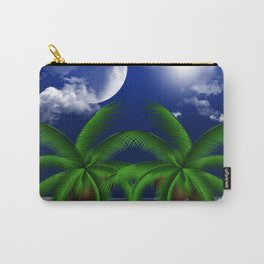 Tropical Moonlight Carry-All Pouch