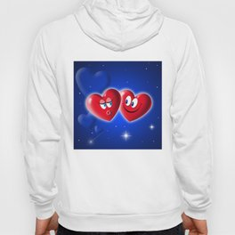 Valentine's Day Hearts Hoody