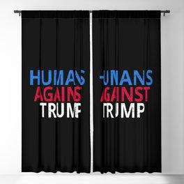 Anti-Trump - Humans Against Trump Blackout Curtain