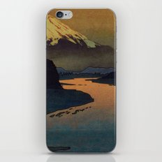 Sunset at Aga iPhone & iPod Skin