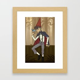 Over the Garden Wall - Wirt Framed Art Print