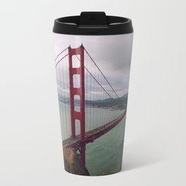 Morning at the Golden Gate Bridge Travel Mug