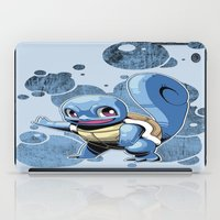 squirtle iPad Cases featuring Squirtle by Yamilett Pimentel