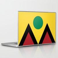 denver Laptop & iPad Skins featuring Denver Flag by HighTribe