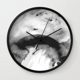 Grey sparks Wall Clock