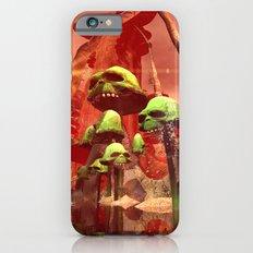 Funny skull mushrooms Slim Case iPhone 6s