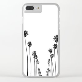 Palm Trees 8 Clear iPhone Case