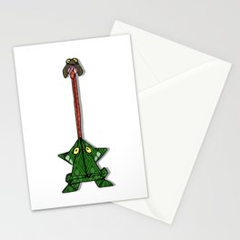 Origami Frog Snack Stationery Cards