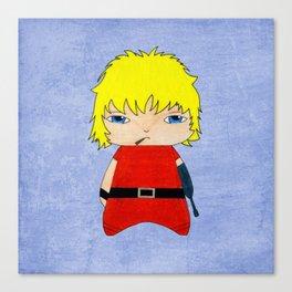 A Boy - Cobra Canvas Print
