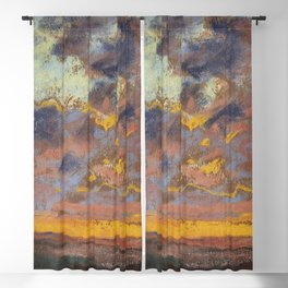 """Claude Monet """"Coucher de soleil"""" Blackout Curtain"""