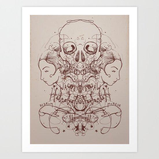 Departed Art Print