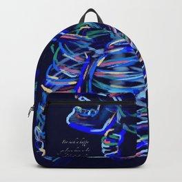 Happy Girl, Sad Thoughts Backpack