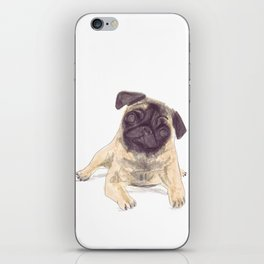 Pug Love iPhone Skin