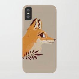 Fox Familiar iPhone Case