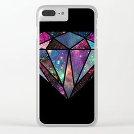 diamond colour new hot art 2018 Clear iPhone Case