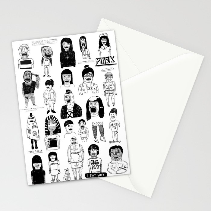PEEPZ Stationery Cards