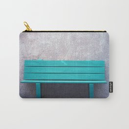 Green Bench Carry-All Pouch