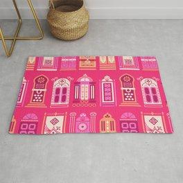 Moroccan Doors – Pink Palette Rug