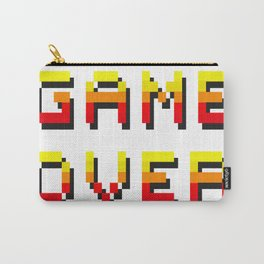 8Bit Game Over Carry-All Pouch