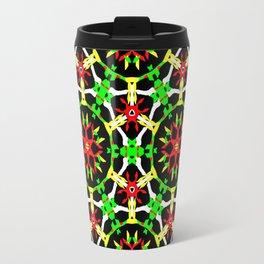 Poinsettia Patterns Travel Mug