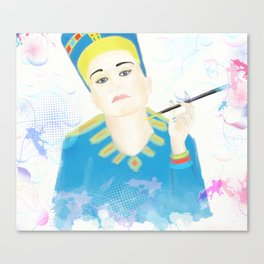 Nefer-tata Canvas Print