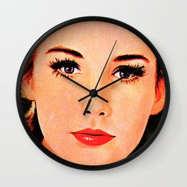 Those Eyes Though Wall Clock