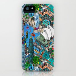 Pixelland iPhone Case